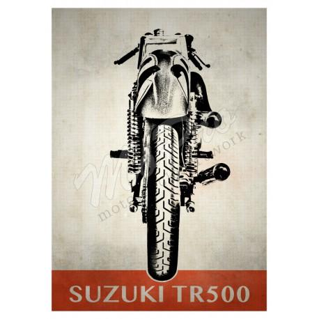 Suzuki TR500 Rear View